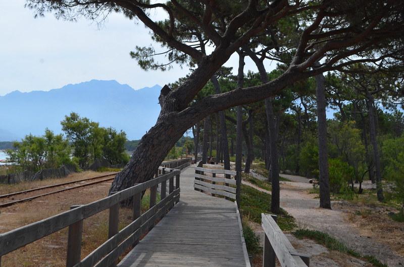 Boardwalk, Calvi, Corsica