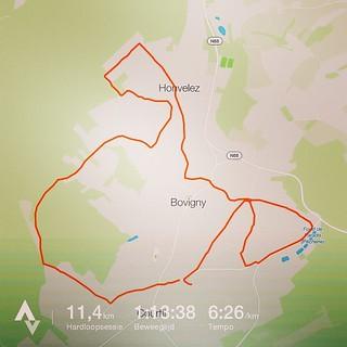 Ik liep een hondje vandaag 🐶 😂 #running #nevernotrunning #roadtoverdi