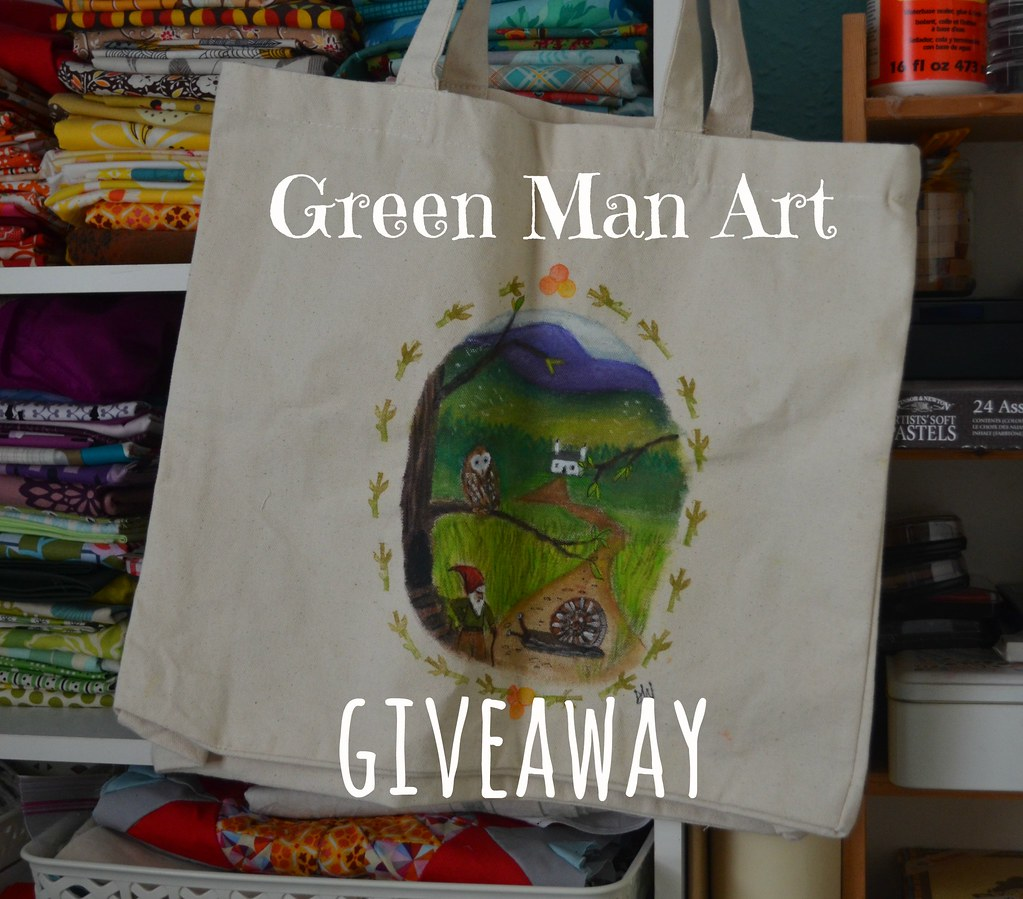Green Man Art GIVEAWAY