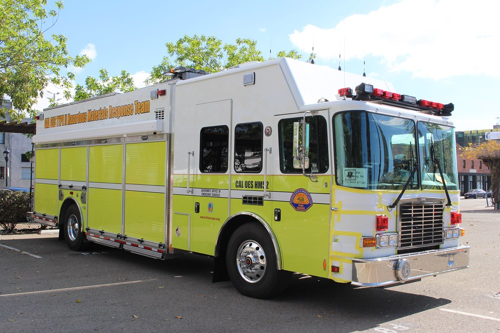 Southern Ca Fire >> California OES | Brand new HME hazmat truck for the Office o… | Flickr