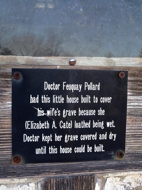 Pollard Graveshelter, Pollard Cemetery, Sevier County TN
