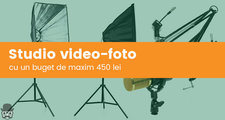 Propriul studio foto-video