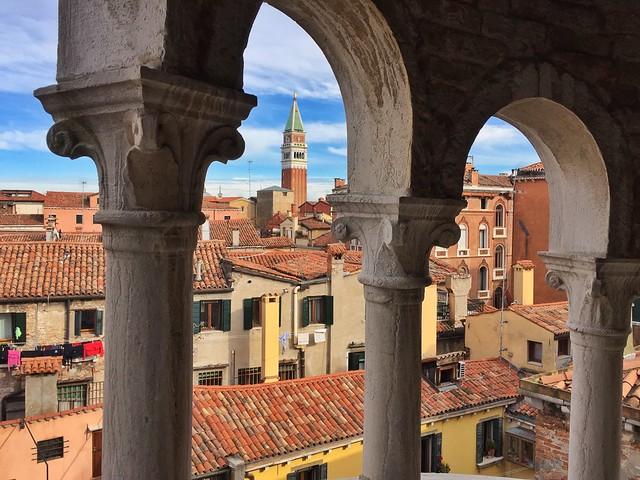 Palacio Contarini del Bovolo (¿Las mejores vistas de Venecia?)