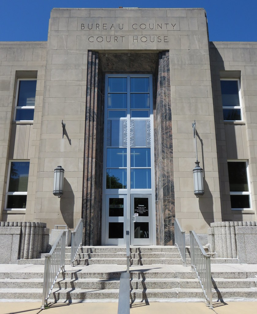 Illinois bureau county princeton -  Bureau County Courthouse Detail Princeton Illinois By Courthouselover