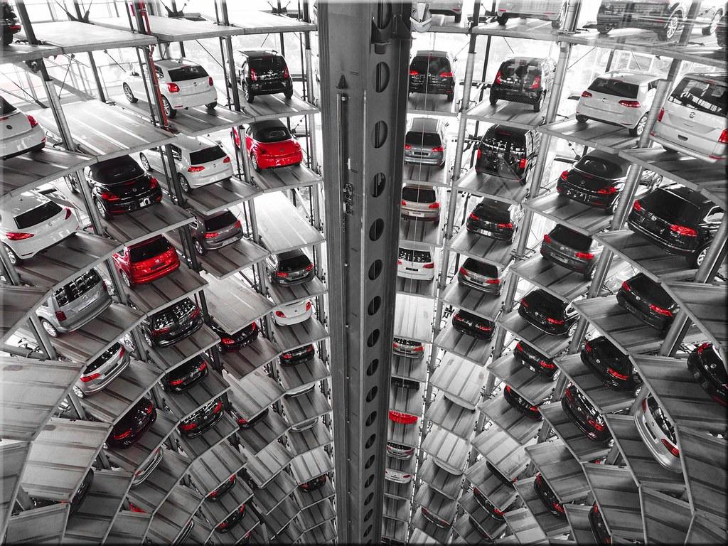 Car Towers Autostadt Wolfsburg Zwei Gl 228 Serne Autot 252 Rme