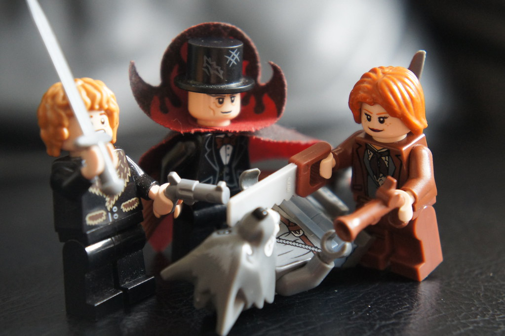 LEGO Custom Minifigures - Bloodborne Hunter Set | Fear the O ...