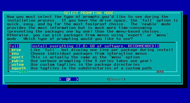 Проблемы с установкой Slackware