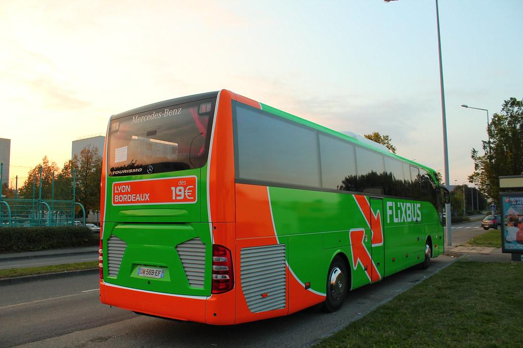 Mercedes Benz Tourismo Euro 6 Flixbus Autocars Pays De