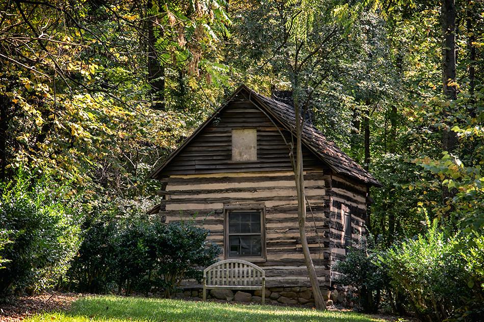 Old Cabin, Reynolda Gardens