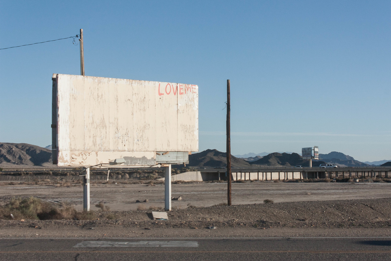 Love Me - Baker, CA 11/15 | by busrbrn