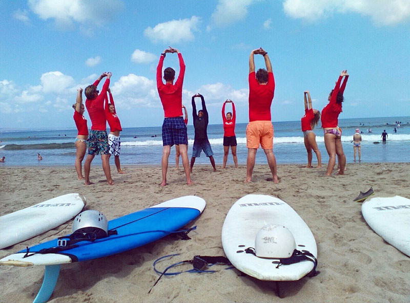 A Surf Lesson at Ripcurl School of Surf