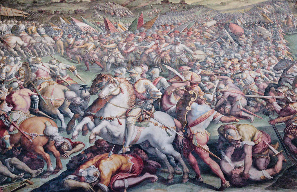 """""""Pisa Attacked by the Florentine Troops"""" (or """"The Battle o ..."""