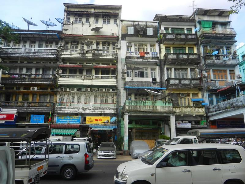 Янгон - бизнес столица Мьянмы
