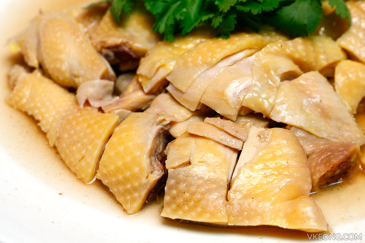 Simmered Chicken