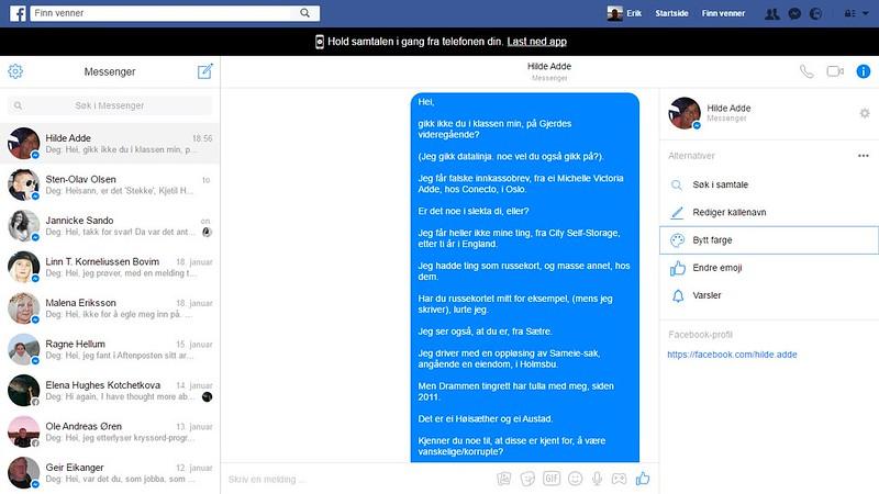 hilde adde facebook 2