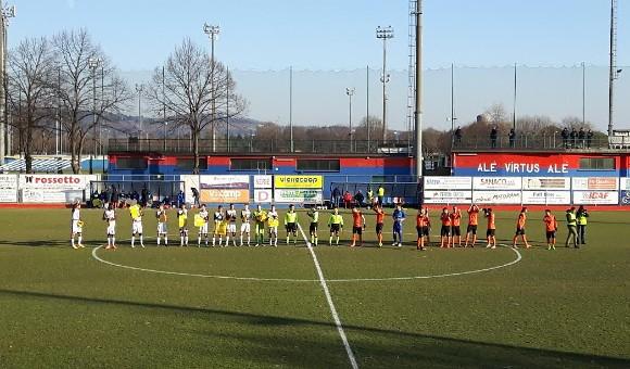 Virtus Verona-Mestre 0-1: gol a freddo, la capolista vince