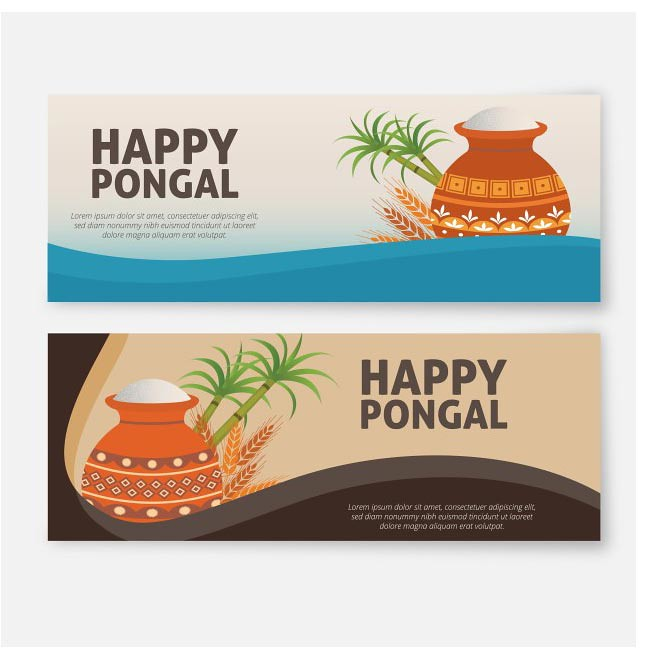 Free vector happy pongal greeting cards cgvectorf flickr free vector happy pongal greeting cards by cgvector m4hsunfo