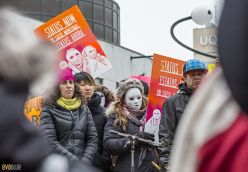 manif des femmes women's march montreal 27 | by Eva Blue