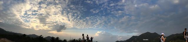 CIRCLEG 遊記 香港 屯門 菠蘿山 良景邨 日落  (65)
