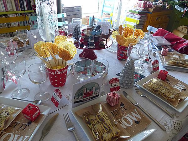 table avant noel