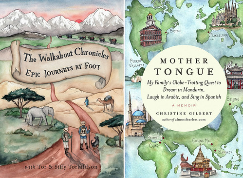 Two of my favorite book covers I've had the honor of illustrating. Artist Candace Rose Rardon