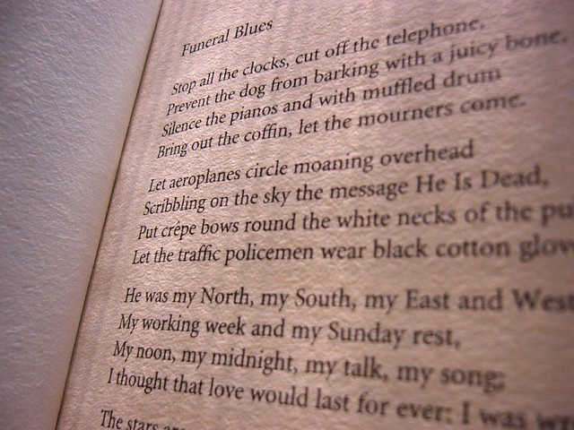 essay on funeral blues by w.h. auden