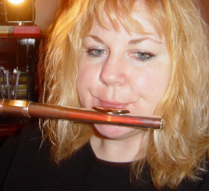 fluteplaying