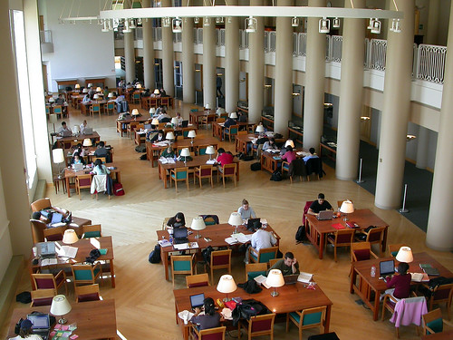Reading Room, Grainger Engineering Library, UIUC | Best libr… | Flickr
