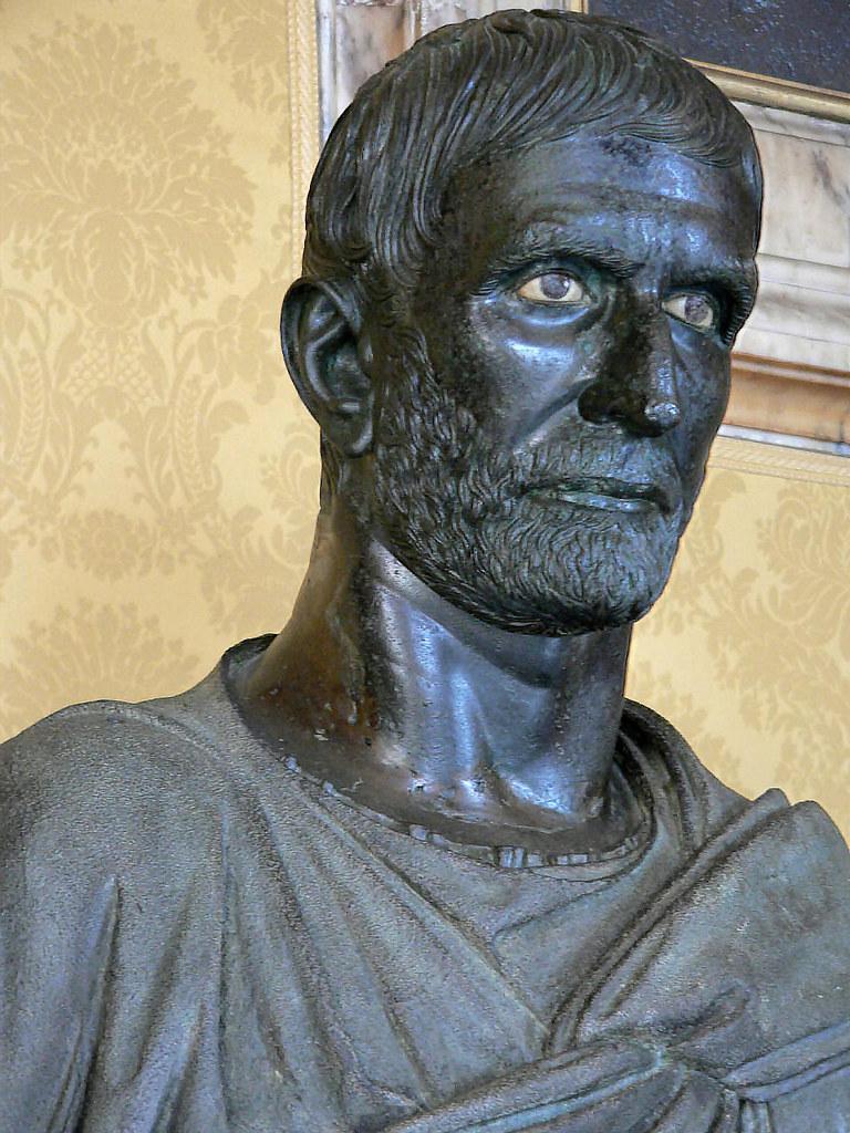 Capitoline Brutus (Lucius Junius Brutus) 6th century BCE ...