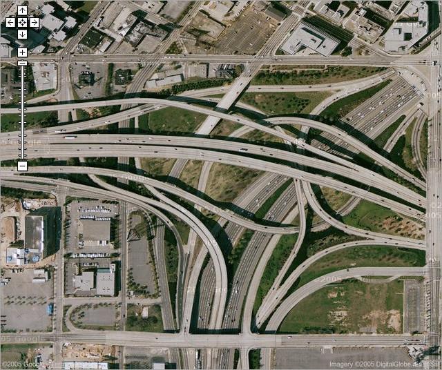 I-20 Stack Interchange | The I-75 interchange at I-20 just ...