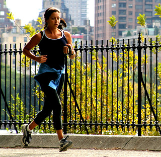 Central Park Jogger | by Thomas Hawk