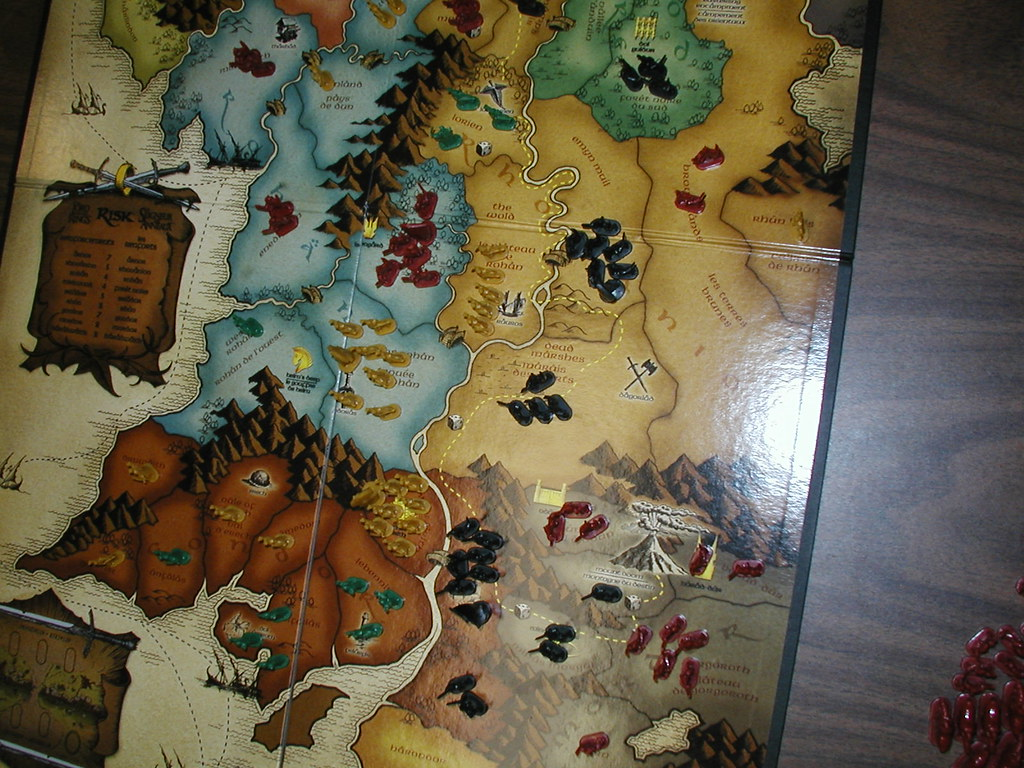 Risk Lord Of The Rings Trilogy Edition Army Count