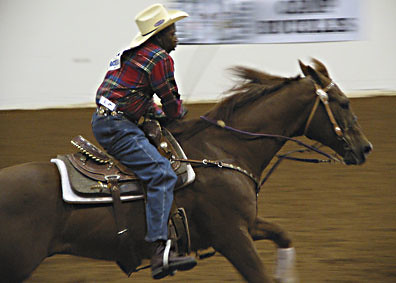 Pole Bending, Cowtown Rodeo, March 2005 | by panopticon