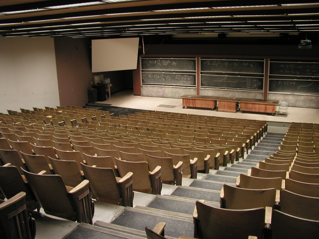 Lecture Lecture Old School Large Lecture Hall Those
