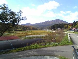 my view of kujihiradake every friday on the way to work