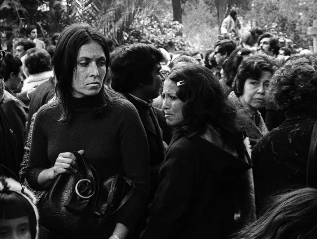 The Funeral of Pablo Neruda, Santiago, Chile, 1973 | by Marcelo  Montecino