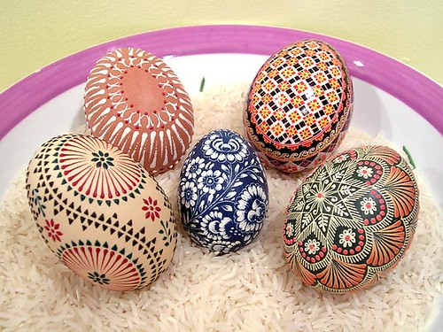 Hand Painted Real Easter Eggs