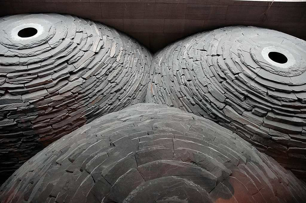 Roof Andy Goldsworthy 2004 2005 Map It Google