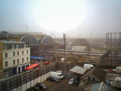 Kings Cross station in the fog_290305