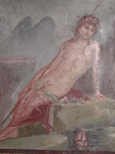 Narcissus Fresco House Of Marcus Lucretius Fronto Casa