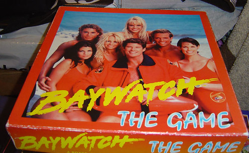 Baywatch board game | by What What