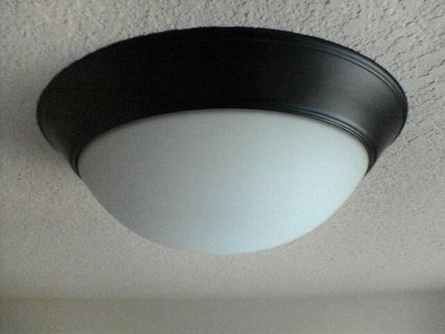 how to change the ceiling light