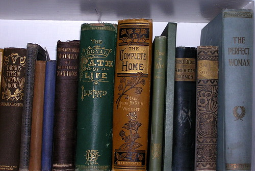 old books on women's issues | by Muffet