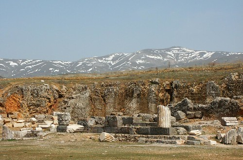 Augusteum, the Temple of Augustus, Antioch in Pisidia  Flickr