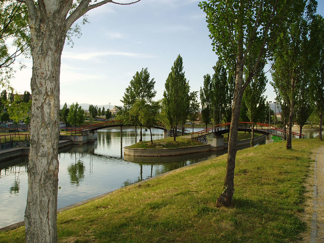 Lago parque central tres cantos en tres cantos tenemos for Piscina islas tres cantos
