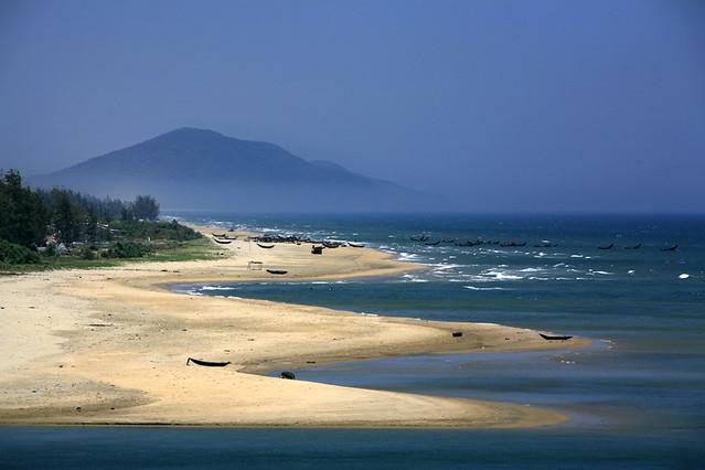 hoi an beach we are on the very edge of hui an beach with flickr
