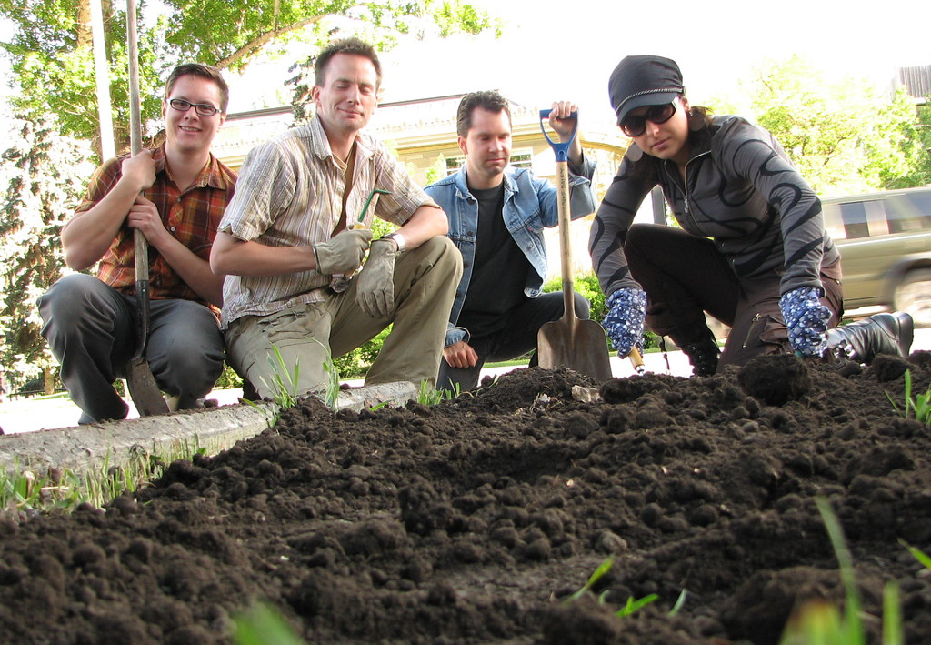 Guerrilla Gardeners   On May 30, 2006, the Calgary Culture ...