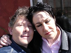With Pauline Murray of Penetration, June 2006 | by Boof Boy