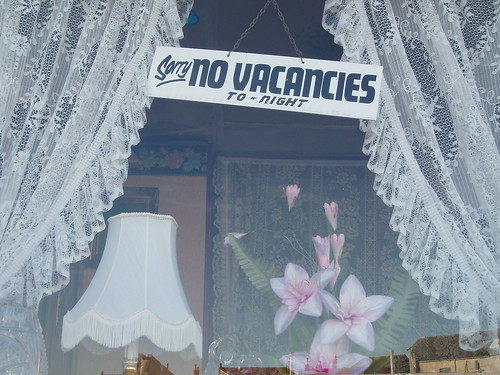 Sorry no vacancies to-night | by I like