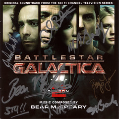 Signed CD cover | by Galacticaa
